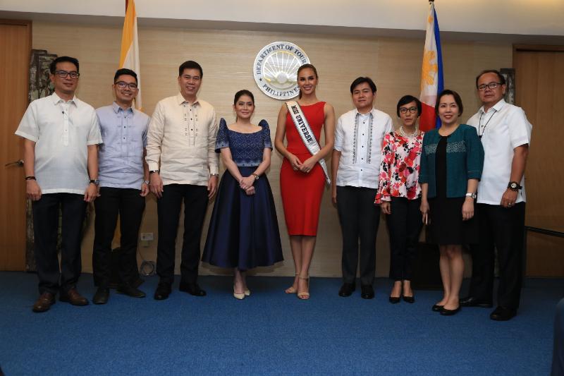 Miss U makes perfect Tourism Ambassador — Sec  Puyat— Tuesday